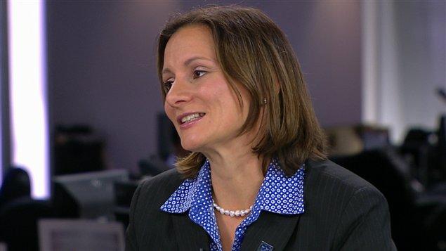 La présidente de l'orde des ingénieurs du Québec, Maud Cohen