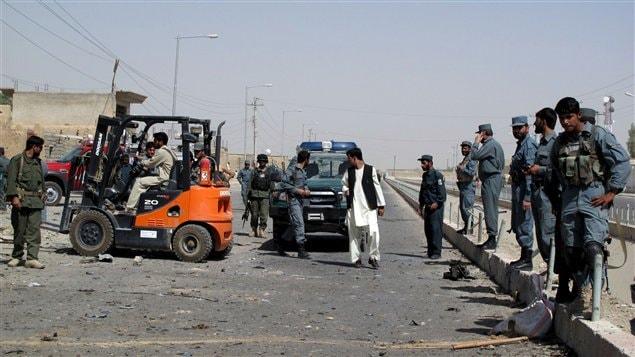 Huit policiers afghans ont été tués dans une attaque contre un point de contrôle dans le sud du pays.