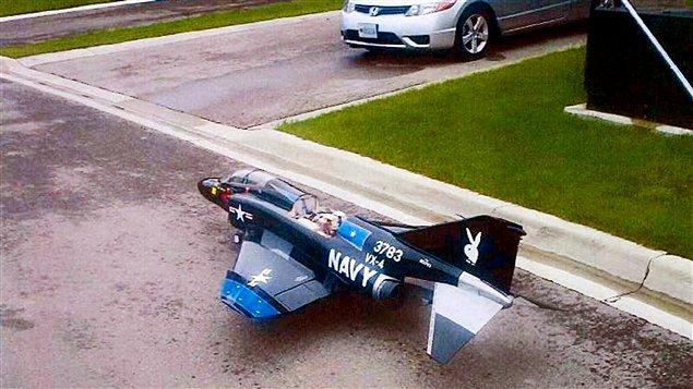 Un des avions téléguidés qui auraient pu être remplis d'explosifs pour attaquer le Pentagone et le Capitole, selon les autorités américaines