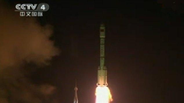 Le départ de Tiangong-1