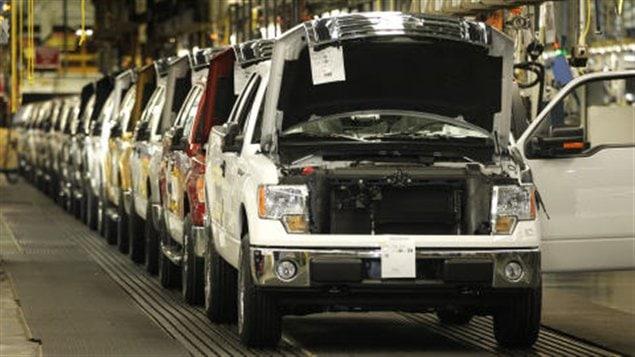 Une usine d'assemblage de Ford (archives)
