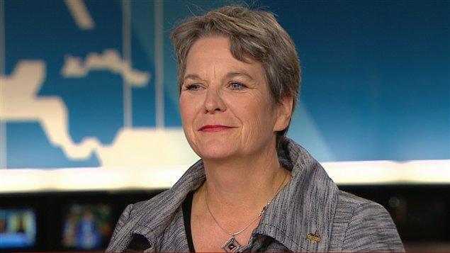 La mairesse de Rivière-des-Prairies-Pointe-aux-Trembles, Chantal Rouleau.