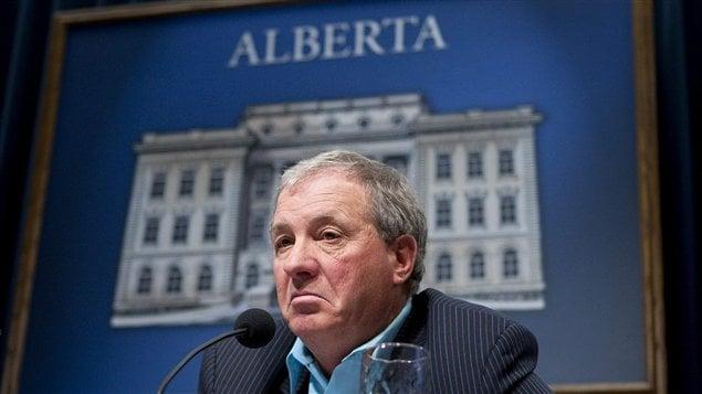 Le ministre albertain de l'Énergie, Ron Liepert