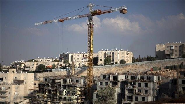 Construction de nouveaux logements à Jérusalem-Est par Israël