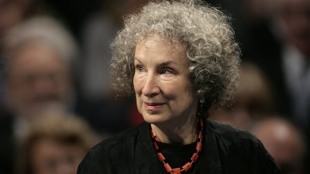 Le dernier roman de l'auteure Margaret Atwood est publié sur du papier recyclé.