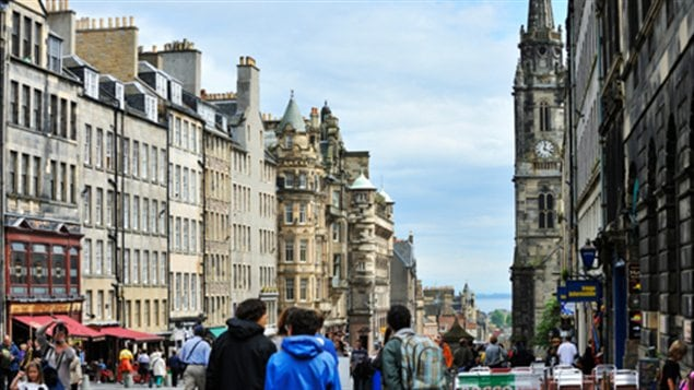Le Royal Mile, Édimbourg