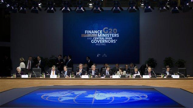 Réunion du G20 Finances à Paris