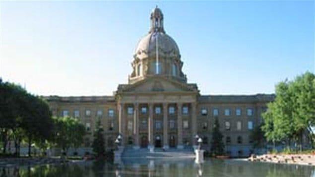 L'Assemblée législative à Edmonton