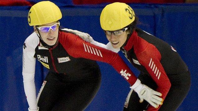 Marianne St-Gelais et Marie-Ève Drolet