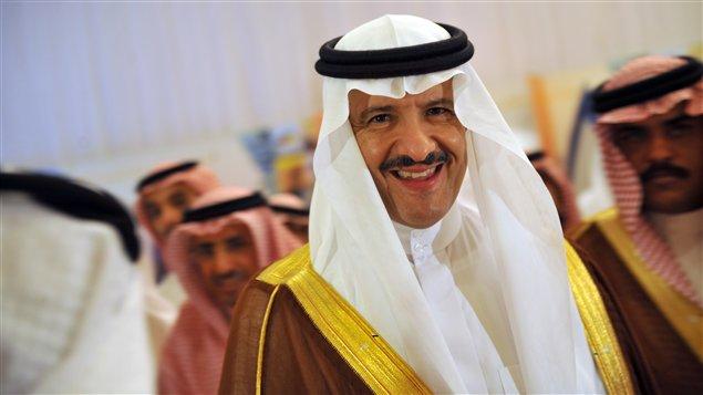 Le prince héritier d'Arabie saoudite, Sultan bin Abdel Aziz, en juin 2011