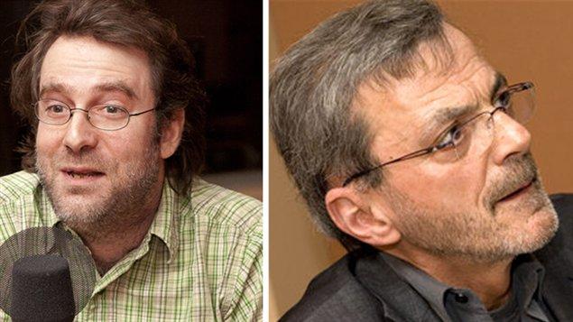 Simon Jodoin et Raymon Gravel (Archives)