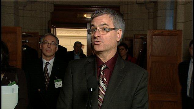 Le ministre de la Justice du Québec Jean-Marc Fournier