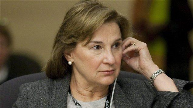 La commissaire Jennifer Stoddart