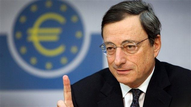 Le président de la Banque centrale européenne, Mario Draghi