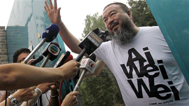 L'artiste dissident chinois, Ai Weiwei