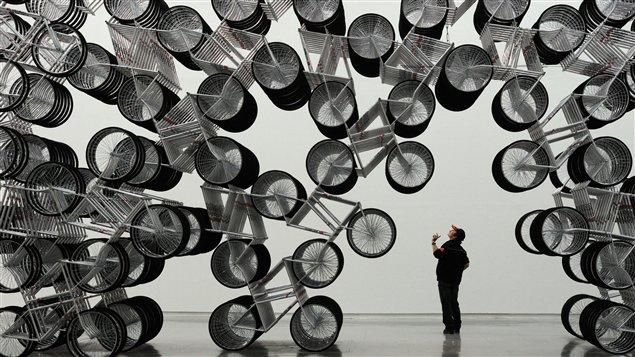 L'exposition «Ai Weiwei absent», à Taiwan.