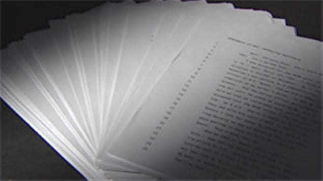 La plainte de 115 pages contenant les allégations de harcèlement sexuel déposée à la direction de la GRC par Catherine Galliford