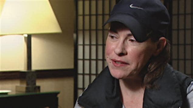 La caporale Catherine Galliford dénonce le harcèlement sexuel dont elle a été victime pendant des années au sein de la GRC en Colombie-Britannique lors d'une entrevue avec la CBC lundi