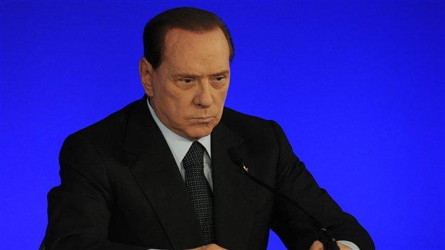 Le premier ministre italien Silvio Berlusconi