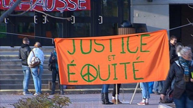 Grève des élèves du Cégep de Sherbrooke