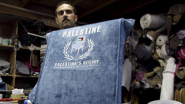 Soutien à l'adhésion d'un État palestinien à l'ONU