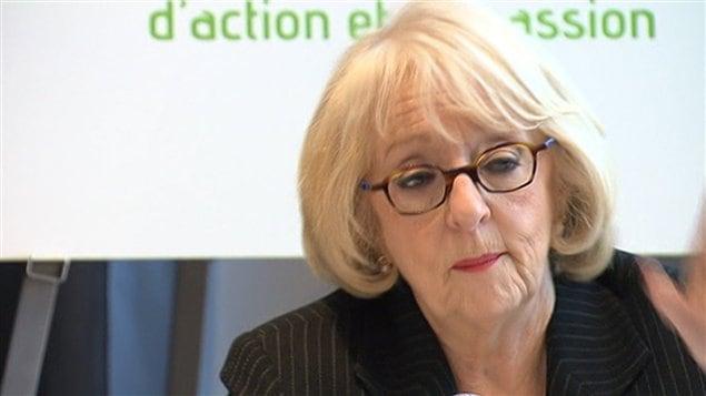 La présidente de l'OQLF Louise Marchand