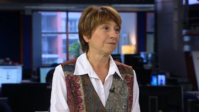 La porte-parole et présidente de Québec solidaire, Françoise David