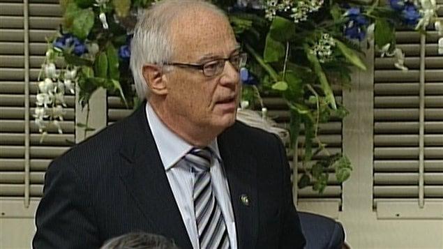 Le ministre de la Sécurité publique, Robert Dutil