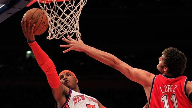 Les Knicks contre les Nets