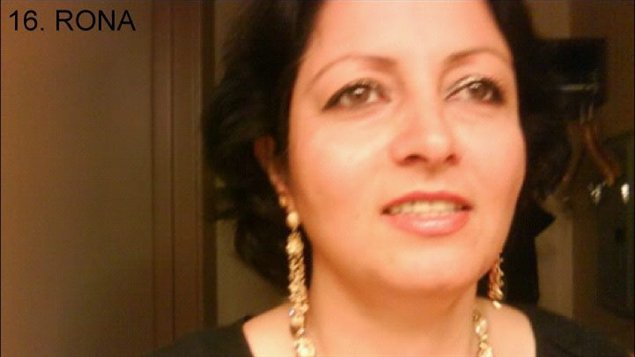 La première femme de Mohammad Shafia, Rona Amir.