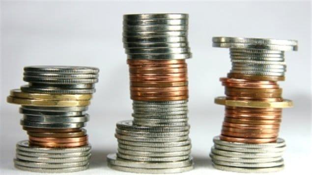 piles de change