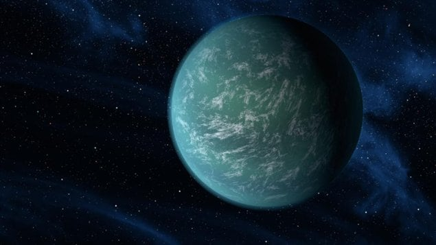 Impression artistique de Kepler-22b