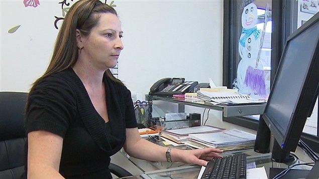Prescillia Boily, gestionnaire de la garderie Les petits moulins