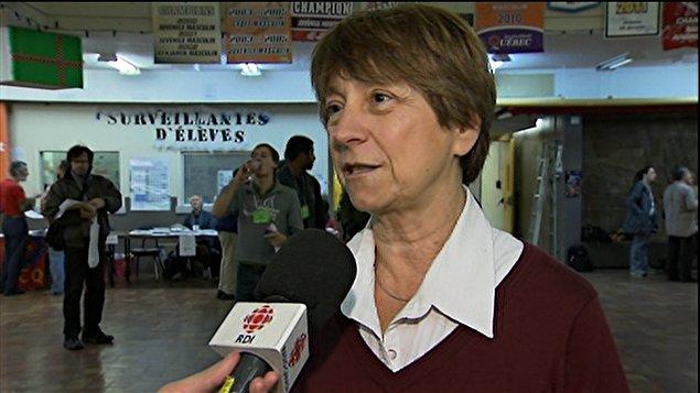 Françoise David, présidente et porte-parole de Québec solidaire