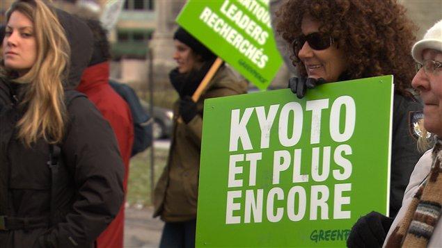 Des manifestants à Montréal, samedi