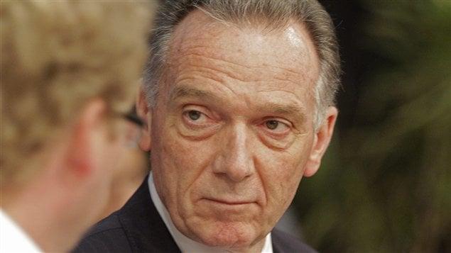 Le ministre canadien de l'Environnement, Peter Kent, à Durban, en Afrique du Sud