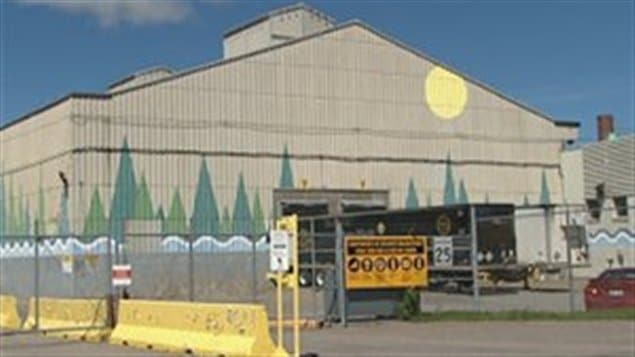 L'usine Kénogami de Produits forestiers Résolu