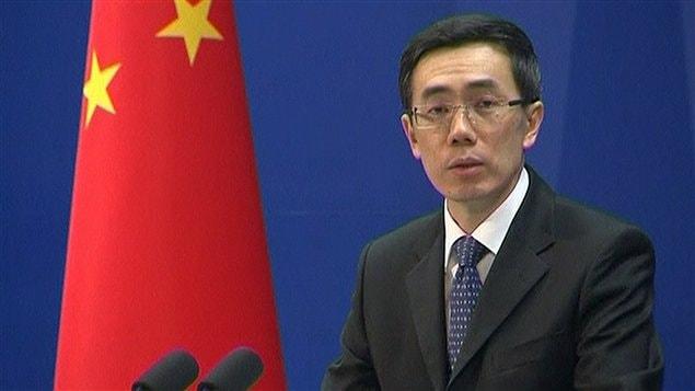 En point de presse, le porte-parole du ministère chinois des Affaires étrangères, Liu Weimin, a réagi au retrait du Canada de Kyoto.