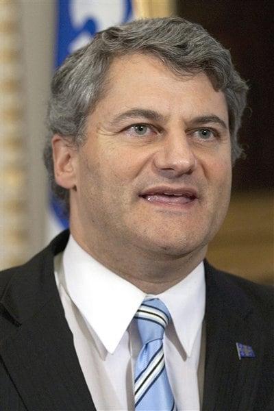Le député Gérard Deltell