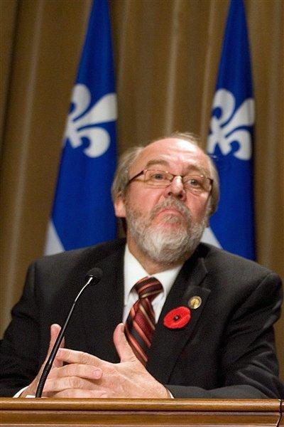 Le député Marc Picard