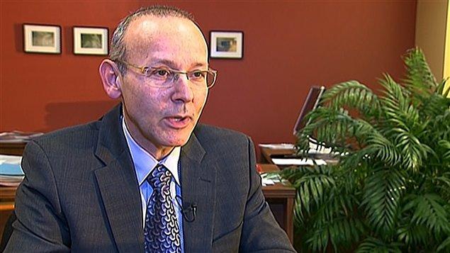 Le sous-ministre adjoint au ministère de la Famille, Jacques Robert