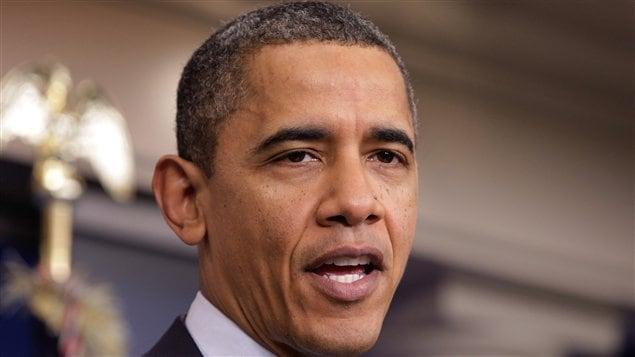 Le président américain Barack Obama, à la Maison-Blanche à Washington, samedi