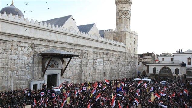 Mosquée des Omeyyades à Damas