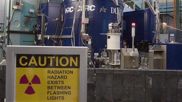 La centrale nucléaire de Chalk River, en Ontario.