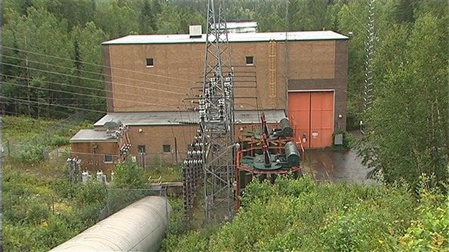 Centrale hydroélectrique Jim-Gray