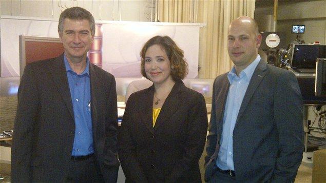 Abbé Lanteigne, Martine Blanchard et Martin Robert