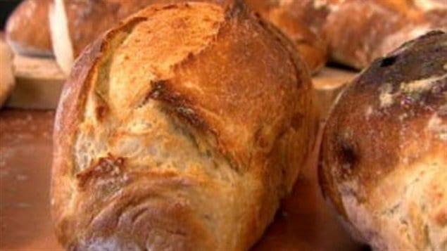 Des miches de pain
