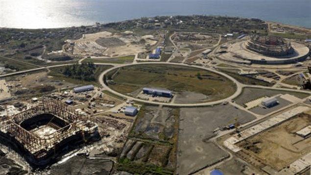 Site olympique de Sotchi 2014