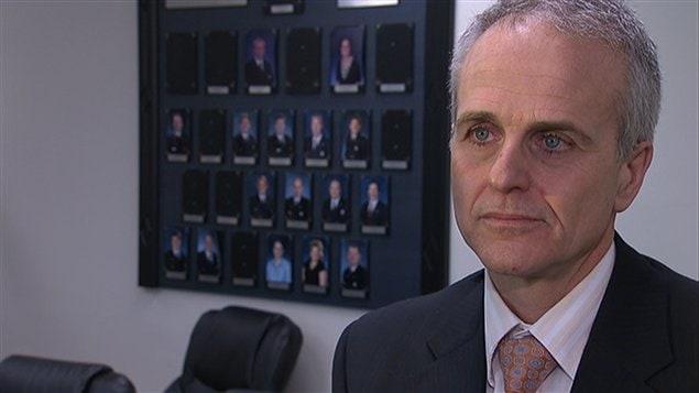 Didier Deramond, directeur adjoint au service des enquêtes spécialisées du SPVM