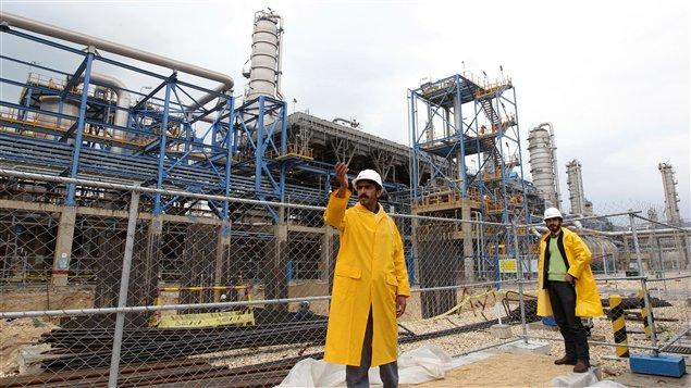 Le complexe pétrochimique de Nouri, en Iran (archives)